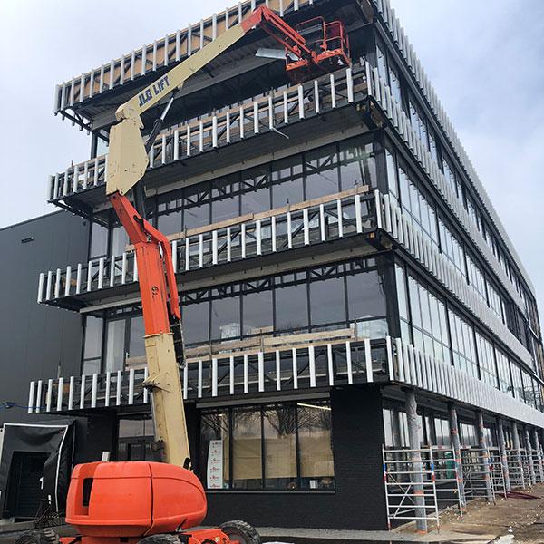 Nieuwbouw kantoor Hedel